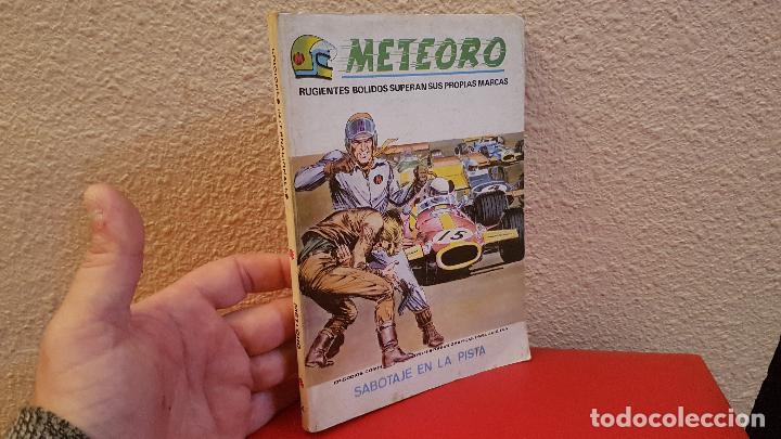 COMIC TACO EDICIONES VERTICE MARVEL COMICS 1969 METEORO RUGIENTES BOLIDOS SABOTAJE EN LA PISTA 4 (Tebeos y Comics - Vértice - Otros)