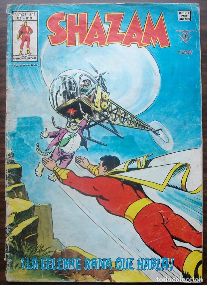 SHAZAM. ¡LA CELEBRE RANA QUE HABLA!. V 1 - Nº 9, EDITORIAL VERTICE 1978 (Tebeos y Comics - Vértice - Otros)