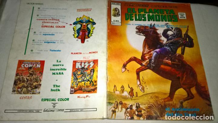 COMICS: EL PLANETA DE LOS MONOS VOL. 2 Nº 24 - MUNDI COMICS VERTICE. ESPECIAL SERIE (ABLN) (Tebeos y Comics - Vértice - V.2)