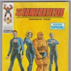 Cómics: LOS 4 FANTÁSTICOS - EDICIONES VÉRTICE - NÚMERO 1: EN DEFENSA DE LA LEY - AÑO 1969. Lote 148011174