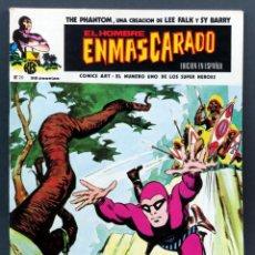 Cómics: EL HOMBRE ENMASCARADO Nº 20 COMICS ART VÉRTICE 1975 EPIDEMIA EN LA JUNGLA. Lote 148037390