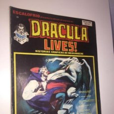 Cómics: ESCALOFRIO - DRACULA LIVES , NUMERO 3. Lote 148619309