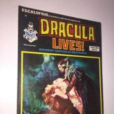 Cómics: ESCALOFRIO - DRACULA LIVES , NUMERO 10. Lote 148619260