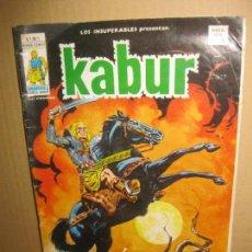 Cómics: LOS INSUPERABLES. KABUR V.1 - Nº 1. MUNDI COMICS.1978.. Lote 148152242