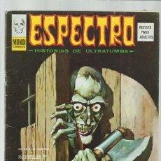 Cómics: ESPECTRO 35, 1974, VERTICE, MUY BUEN ESTADO. Lote 148155402