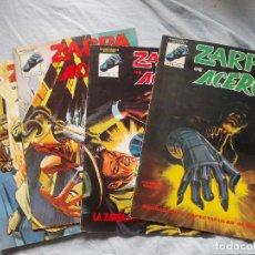 Cómics: ZARPA DE ACERO 4 NUMEROS DE 5. MUNDI-COMICS. Lote 148296110