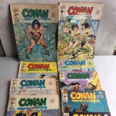 Cómics: CONAN VOLUMEN 2 LOTE DE 18 EJEMPLARES ( VERTICE ). Lote 148315978