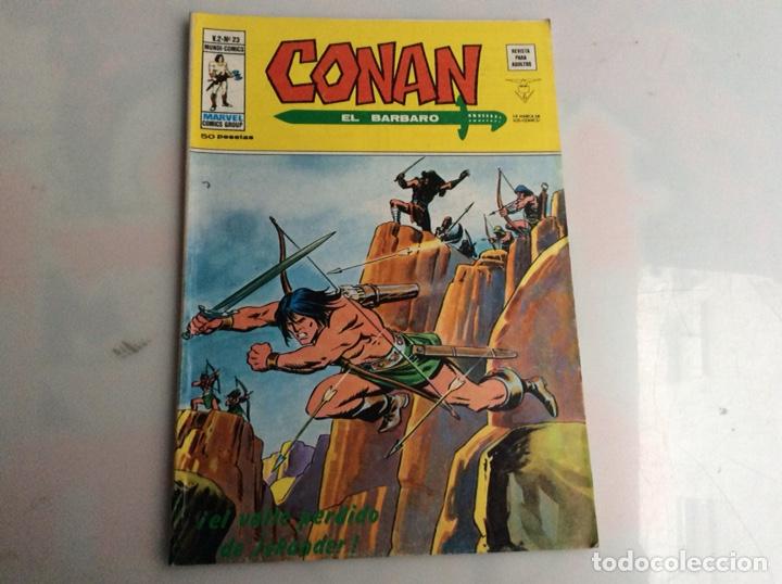 CONAN VOLUMEN 2 Nº 23 ( VERTICE ) (Tebeos y Comics - Vértice - Conan)