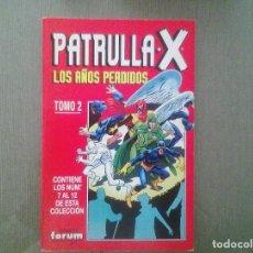 Cómics: COMIC PATRULLA X / LOS AÑOS PERDIDOS TOMO 2. Lote 148635878