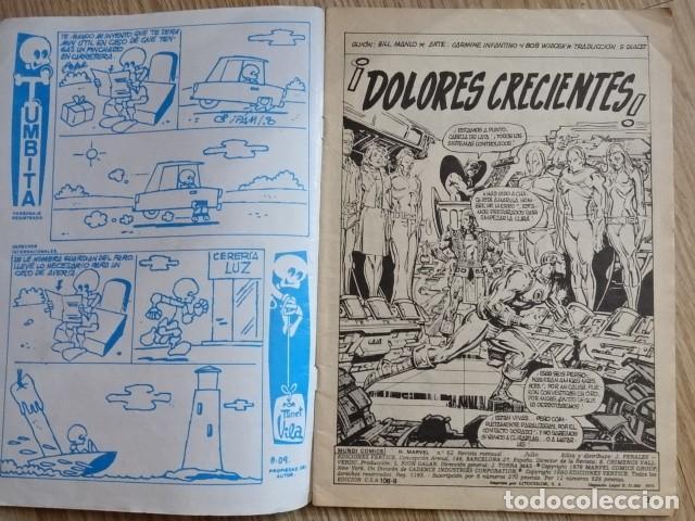 Cómics: HEROES MARVEL Mundi comics VOL 2 Nº 62 El Hombre de hierro Dolores crecientes EDICIONES VERTICE 1975 - Foto 3 - 148638242