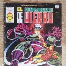 Cómics: HEROES MARVEL MUNDI COMICS VOL 2 Nº 62 EL HOMBRE DE HIERRO DOLORES CRECIENTES EDICIONES VERTICE 1975. Lote 148638242