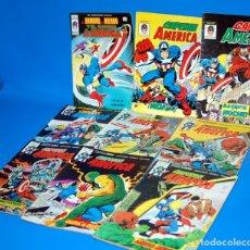 Cómics: LOTE 9 COMICS EL CAPITAN AMERICA VERTICE COMICS V3 Nº 41 AL 46 Y 3 NUMEROS MAS. Lote 148802458