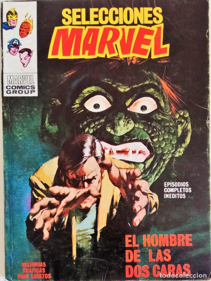 SELECCIONES MARVEL Nº 21 - EDICIONES VÉRTICE VOL. 1 - AÑO 1972 - COMPLETO - BUEN ESTADO (Tebeos y Comics - Vértice - V.1)
