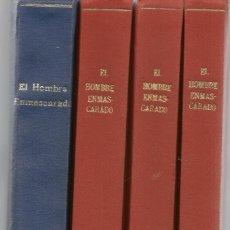 Cómics: EL HOMBRE ENMASCARADO. 40 NÚMEROS (DEL 1 AL 40) ENCUADERNADO EN 4 TOMOS.VERTICE/COMIC ART(RF.MA)B/21. Lote 149219426