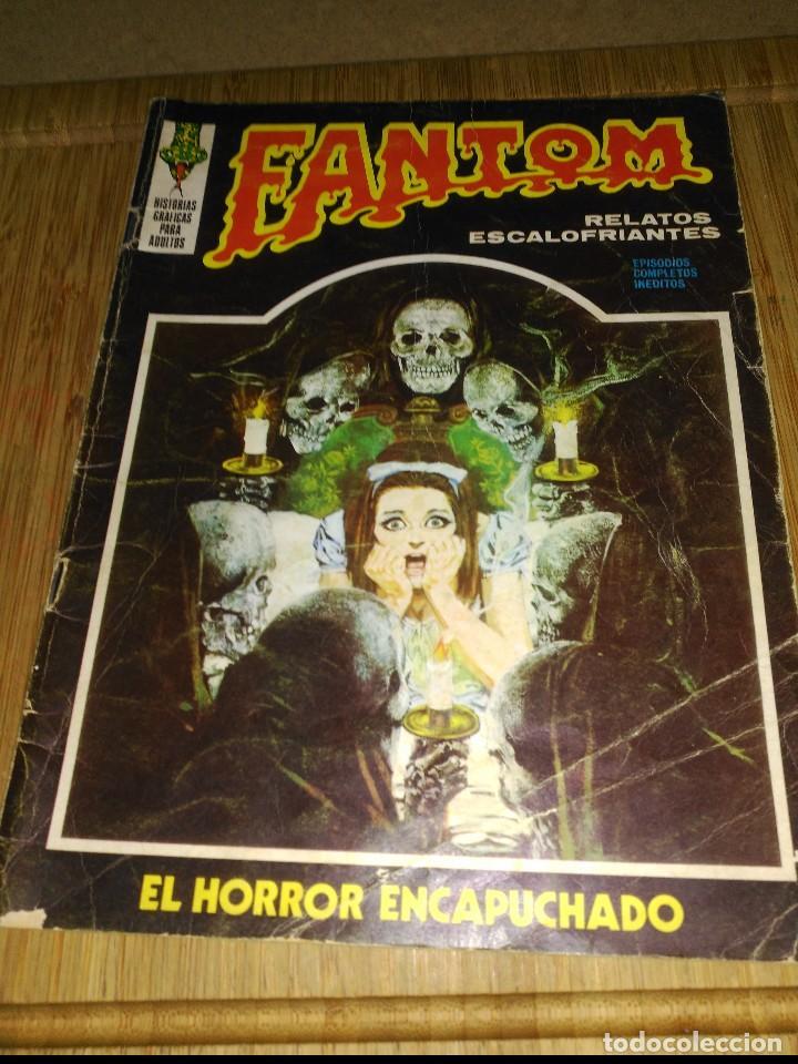 FANTOM VOL. 1 Nº 9 (Tebeos y Comics - Vértice - Terror)