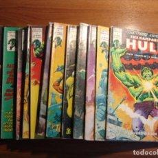 Cómics: THE RAMPANGING HULK 15 COMICS DE MARVEL MUNDICOMICS V1 DE VERTICE COMPLETA. Lote 149711470