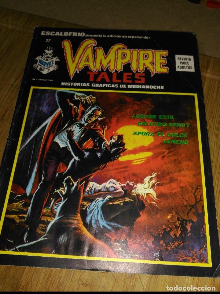 ESCALOFRIO Nº 27 (Tebeos y Comics - Vértice - Terror)