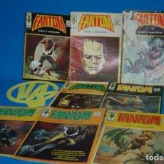 Cómics: COMICS FANTOM VOL. 1 NUMEROS 1 2 3 4 5 6 7 8 VERTICE 1974 DIFICILES . Lote 149768742