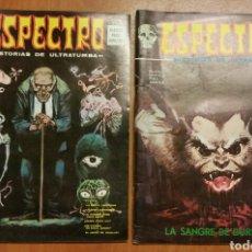 Cómics: LOTE 2 COMICS, ESPECTRO Y ESPECTROS, EDITORIAL VERTICE. Lote 150022785