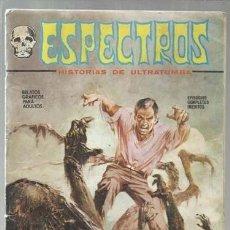 Cómics: ESPECTROS 7, 1972, VERTICE.. Lote 150183890