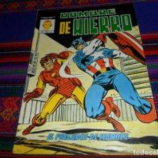 Cómics: VÉRTICE MUNDICOMICS COLOR EL HOMBRE DE HIERRO Nº 6 CON CAPITÁN AMÉRICA. EL PRELUDIO DE MONACO. . Lote 150734810