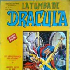 Cómics: LA TUMBA DE DRÁCULA- ESCALOFRÍO-V-1- Nº 4 - 1981- GRAN GENE COLAN-MUY BUENO-DIFÍCIL-LEAN-0240. Lote 150974934