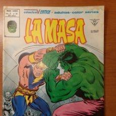 Cómics: LA MASA 38. Lote 151002294
