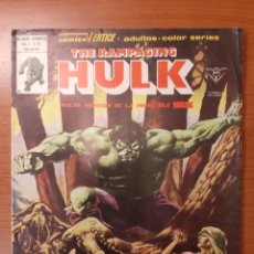 Cómics: THE RAMPAGING HULK 10 AL 15. Lote 151004698