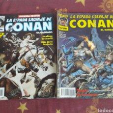 Cómics: COMICS FORUM.CONAN.EL BARBARO.LA ESPADA SALVAJE.NUM 103 Y NUM.10 DE SEGUNDA EDICION. Lote 151060774