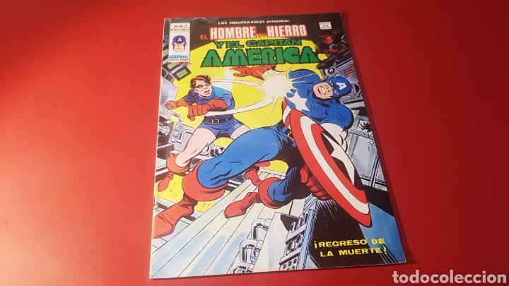 EXCELENTE ESTADO LOS INSUPERABLES 15 VERTICE (Tebeos y Comics - Vértice - Hombre de Hierro)
