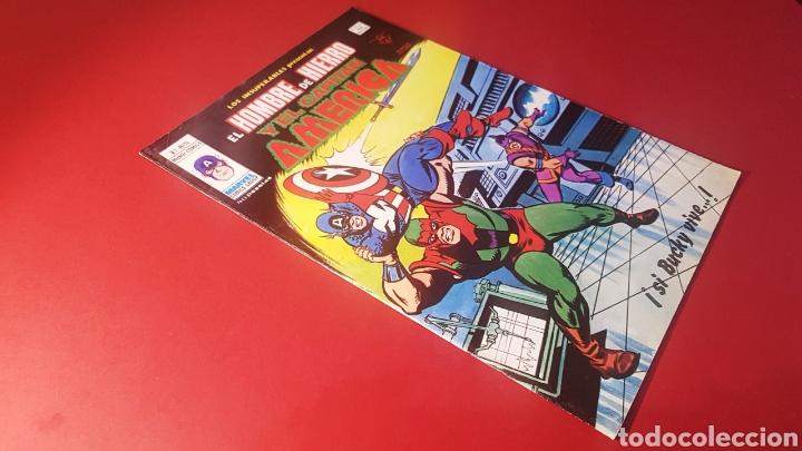 EXCELENTE ESTADO LOS INSUPERABLES 14 VERTICE (Tebeos y Comics - Vértice - Hombre de Hierro)