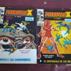 Cómics: LOTE.COMIC.PATRULLA X.EDICION ESPECIAL.NUM.21 Y 23.MARVEL.EDICIONES VERTICE. Lote 151066748
