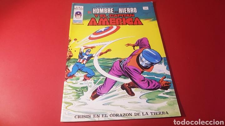 EXCELENTE ESTADO LOS INSUPERABLES 9 VERTICE (Tebeos y Comics - Vértice - Hombre de Hierro)