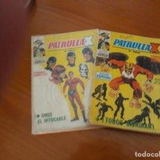 Cómics: LOTE 2 NUMEROS DE PATRULLA X TACO 1970. Lote 151072718