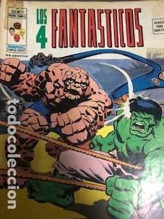 4 FANTASTICOS VÉRTICE V3 Y V2 (Tebeos y Comics - Vértice - 4 Fantásticos)