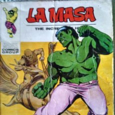 Cómics: LA MASA - HOLOCAUSTRO DENTRO DE UN ATOMO- EDICIONES VERTICE - Nº 27. Lote 151081198