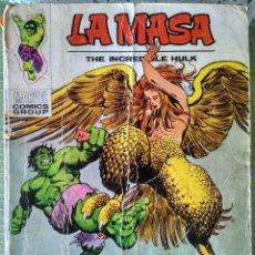 Cómics: LA MASA - LA ARPIA - EDICIONES VERTICE - Nº 33. Lote 151081698
