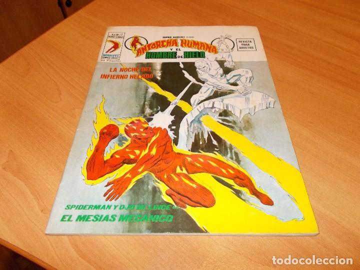 SUPER HEROES V.2 Nº 12 (Tebeos y Comics - Vértice - Super Héroes)