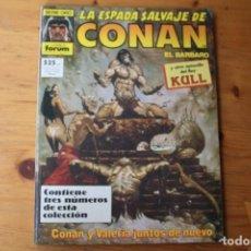Cómics: LA ESPADA SALVAJE DE CONAN . Lote 151262874