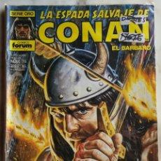 Cómics: LA ESPADA SALVAJE DE CONAN - FORUM - Nº 75. Lote 151270822