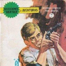 Cómics: SELECCIONES VÉRTICE DE AVENTURAS - Nº 18 - EL VENGADOR -1966-ESCASO-CORRECTO- DIFÍCIL-LEAN-0262. Lote 151318146
