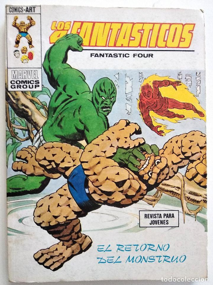 LOS 4 FANTASTICOS VOL.1 Nº 62 - EDICIONES VÉRTICE AÑO 1973 - BUEN ESTADO (Tebeos y Comics - Vértice - 4 Fantásticos)