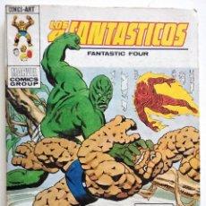 Cómics: LOS 4 FANTASTICOS VOL.1 Nº 62 - EDICIONES VÉRTICE AÑO 1973 - BUEN ESTADO. Lote 151519138