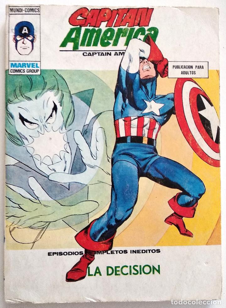 CAPITÁN AMÉRICA VOL.1 Nº 36 - EDICIONES VÉRTICE AÑO 1974 - BUEN ESTADO (Tebeos y Comics - Vértice - Capitán América)