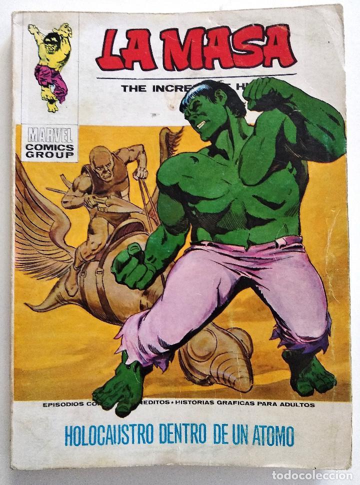 LA MASA VOL.1 Nº 27 - EDICIONES VÉRTICE AÑO 1973 - BUEN ESTADO (Tebeos y Comics - Vértice - La Masa)