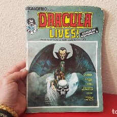 Cómics: COMIC MARVEL MONSTER GROUP ESCALOFRIO 1973 DRACULA LIVES NUMERO 1 Nº 4 VERTICE . Lote 151753626