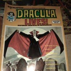 Comics: REVISTA ESCALOFRIO 15 - DRÁCULA LIVES! N°4 - MARVEL. Lote 151787618