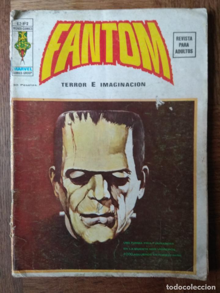 FANTOM V.2 Nº 2 - TERROR E IMAGINACION ED. VERTICE - (Tebeos y Comics - Vértice - Terror)