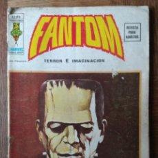 Cómics: FANTOM V.2 Nº 2 - TERROR E IMAGINACION ED. VERTICE -. Lote 151824314