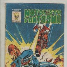 Cómics: EL MOTORISTA FANTASMA- AÑO 1981- VÉRTICE-COLOR-FORMATO GRAPA-Nº 4-LA BRUJA DE CONDENA. Lote 151879593